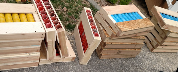 Make this fireworks mortar rack quick and easy - Project Plans