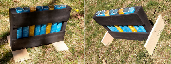 Simple Morgar rack for fireworks - Easy to follow instructions