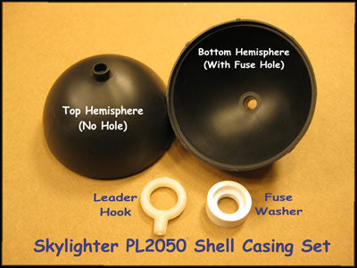 Skylighter 3-inch plastic shell casing