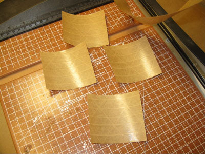 3 inch gummed paper tape pieces