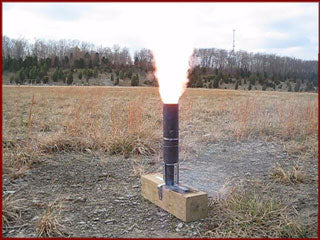 Firing baseball out of mortar tube with black powder