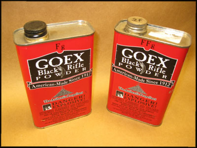 Commercial Goex Black Powder