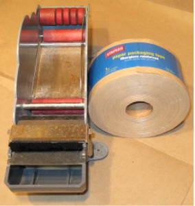 Kraft Tape, and Manual Tape Dispenser