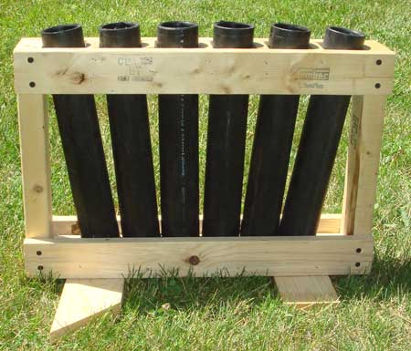 Skylighter PL3175 Mortar Rack with HDPE Guns