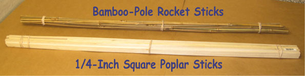 Common Types of Rocket Sticks