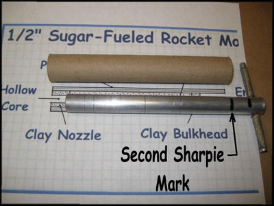 How to Make Sugar Rockets with Potassium Nitrate and