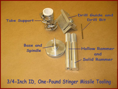 Stinger Missile Rocket Tooling