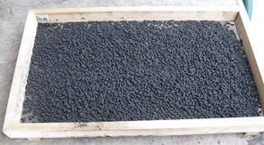 BP-Coated Puffed Rice in Drying Tray