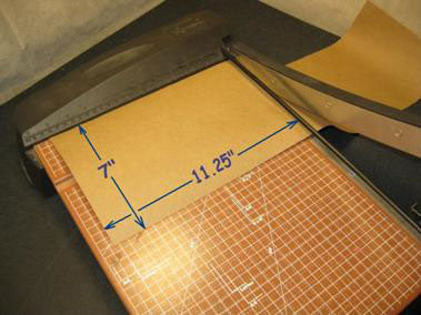Cutting Kraft Paper For Firework Mine