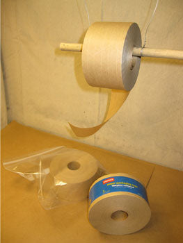 Fiber reinforced tape and homemade dispenser