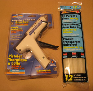 Glue Gun and Glue Sticks