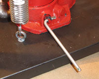Improvised Pressure Relief-Valve Handle