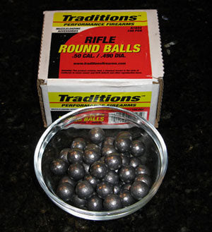 Ball Milling Media - .50 Caliber Lead Balls