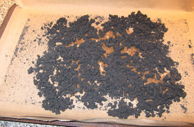 Black Powder with Red Gum and Alcohol, Granulated