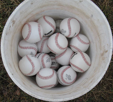 Bucket of Dummy Shells - Baseballs