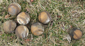 Baseballs After Being Fired From the Mortar