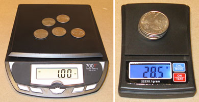 Testing the Accuracy of Digital Scales