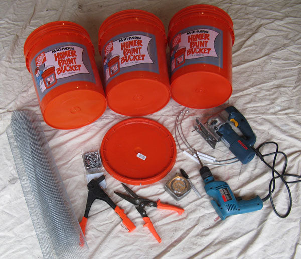 Tools and 3 Buckets to be Modified