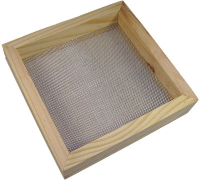 Stainless Steel Screen, 10 Mesh, Framed