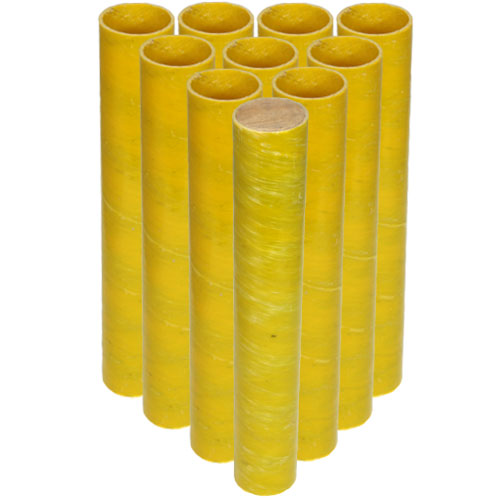1.8 in. ID Fiberglass Festival Ball Mortar Tubes - 10 pack