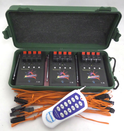 12 Cue Wireless Fireworks Firing System 12pcs Igniters 12qfs