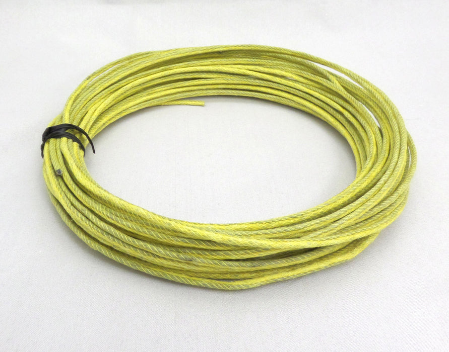 Very Fast Burning Yellow Visco Fuse 1-2 sec/ft, 50ft.