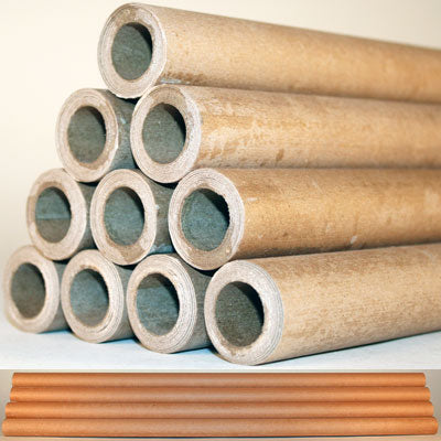 "1 pound (3/4"" ID) rocket tube, uncut (30"" Long) - Pack of 10 ea."