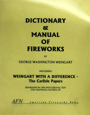 Dictionary & Manual of Fireworks