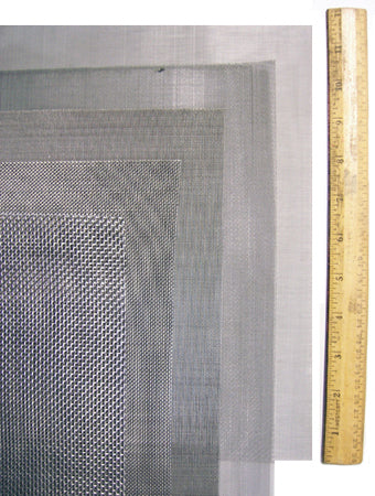 Stainless Steel Screen Set, Unframed