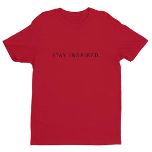 Stay Inspired. Men Shirt  👚