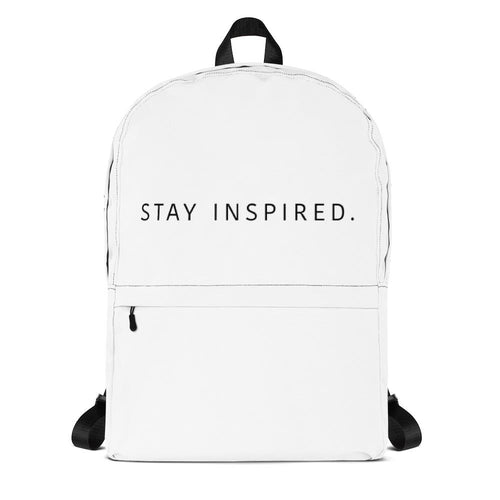 Stay Inspired. Backpack 🎒