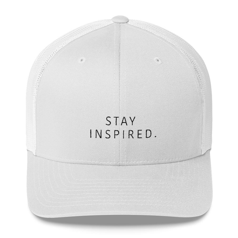 Stay Inspired. Trucker Cap 🧢