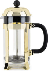 DRIPPIN' IN GOLD FRENCH PRESS TEA & COFFEE POT - $42