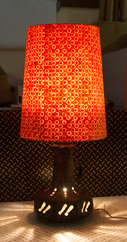Our customer was thrilled with the lamp transformation and most certainly now have a unique floor lamp in their home