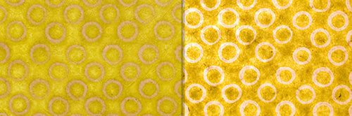 View Full Range of Products in P02 - Batik Lime Circles