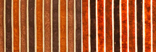 View Full Range of Products in P07 - Batik Stripes Brown