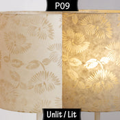 P09 ~ Batik Peony on Natural