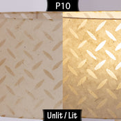 P10 ~ Batik Tread Plate Natural
