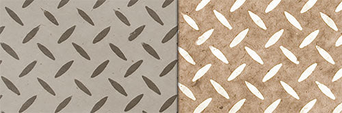 View Full Range of Products in P10 - Batik Tread Plate Natural