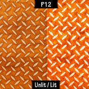 P12 ~ Batik Tread Plate Brown