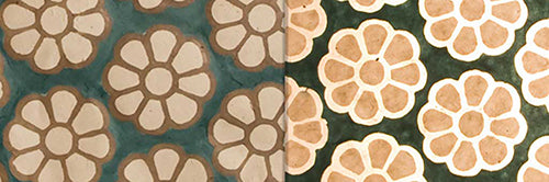 View Full Range of Products in P19 - Batik Big Flower on Green