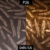 P26 ~ Resistance Dyed Brown Fern