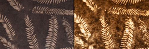 View Full Range of Products in P26 - Resistance Dyed Brown Fern