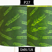 P27 ~ Resistance Dyed Green Fern