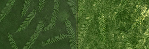 View Full Range of Products in P27 - Resistance Dyed Green Fern