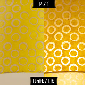 P71 Batik Yellow Circles