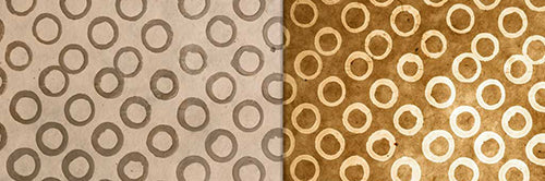 View Full Range of Products in P74 - Batik Natural Circles