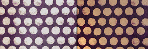View Full Range of Products in P79 - Batik Dots on Purple