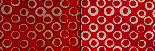 View Full Range of Products in P83 - Batik Red Circles