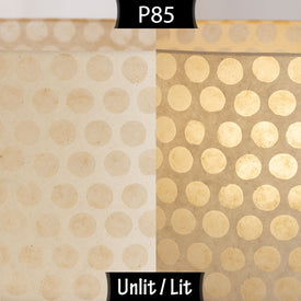 P85 ~ Batik Dots on Natural